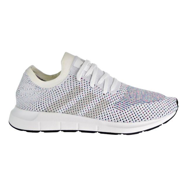 info for a2390 1c13e Adidas Originals Swift Run Prime Knit Men s Shoes White Black CG4126