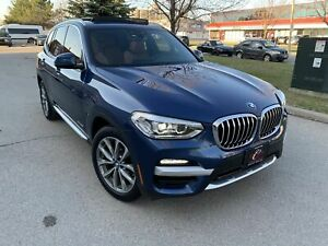 2018 BMW X3 SPORT HEADS-UP LANE ASSIST 360CAM PANO NAV NO ACCIDENTS