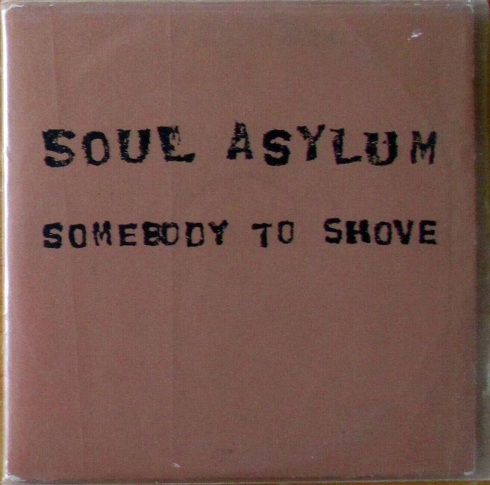 SOUL ASYLUM: SOMEBODY TO SHOVE - PROMO CD SINGLE, rock