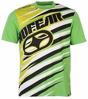 No Fear Men's T-shirt logo Lime