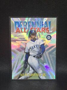 1999 TOPPS PERENNIAL ALL STARS CHROME KEN GRIFFEY JR SSP REFRACTOR HOF MINT