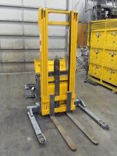 2500 Lb Pallet Stacker Fork Lift Multiton Ejb 25 206 17 Lift Good Batteries