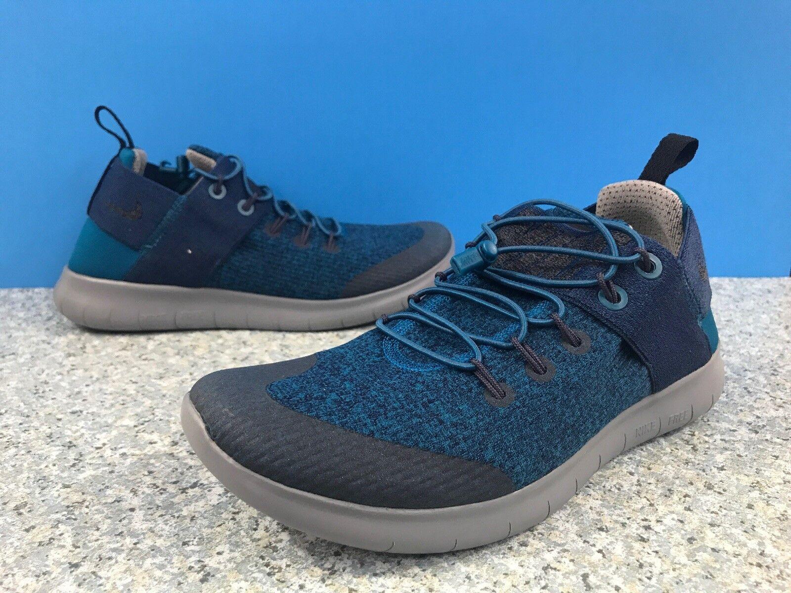 Nike Free RN springa CMTR Commuter 2017 Premium skor AA1622 -300 kvinnor SZ 8