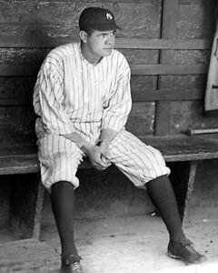 New-York-Yankees-Young-BABE-RUTH-Glossy-8x10-Photo-Baseball-Print-Poster