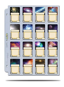 ULTRA-PRO-16-Pocket-Page-for-cards-in-Mini-American-Board-Games-Sleeve-10-Pack