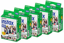 Pellicola Istantanea FujiFilm Instax Wide x 200/210/300 (NO Polaroid) 10x10 foto