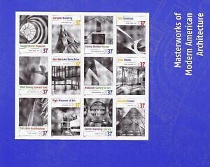 2005 United States, USA, n° 4076/4087  Minifoglio di 12 MNH/**