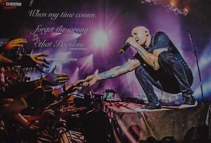 CHESTER-BENNINGTON-A3-Poster-ca-42-x-28-cm-Linkin-Park-Clippings-Sammlung