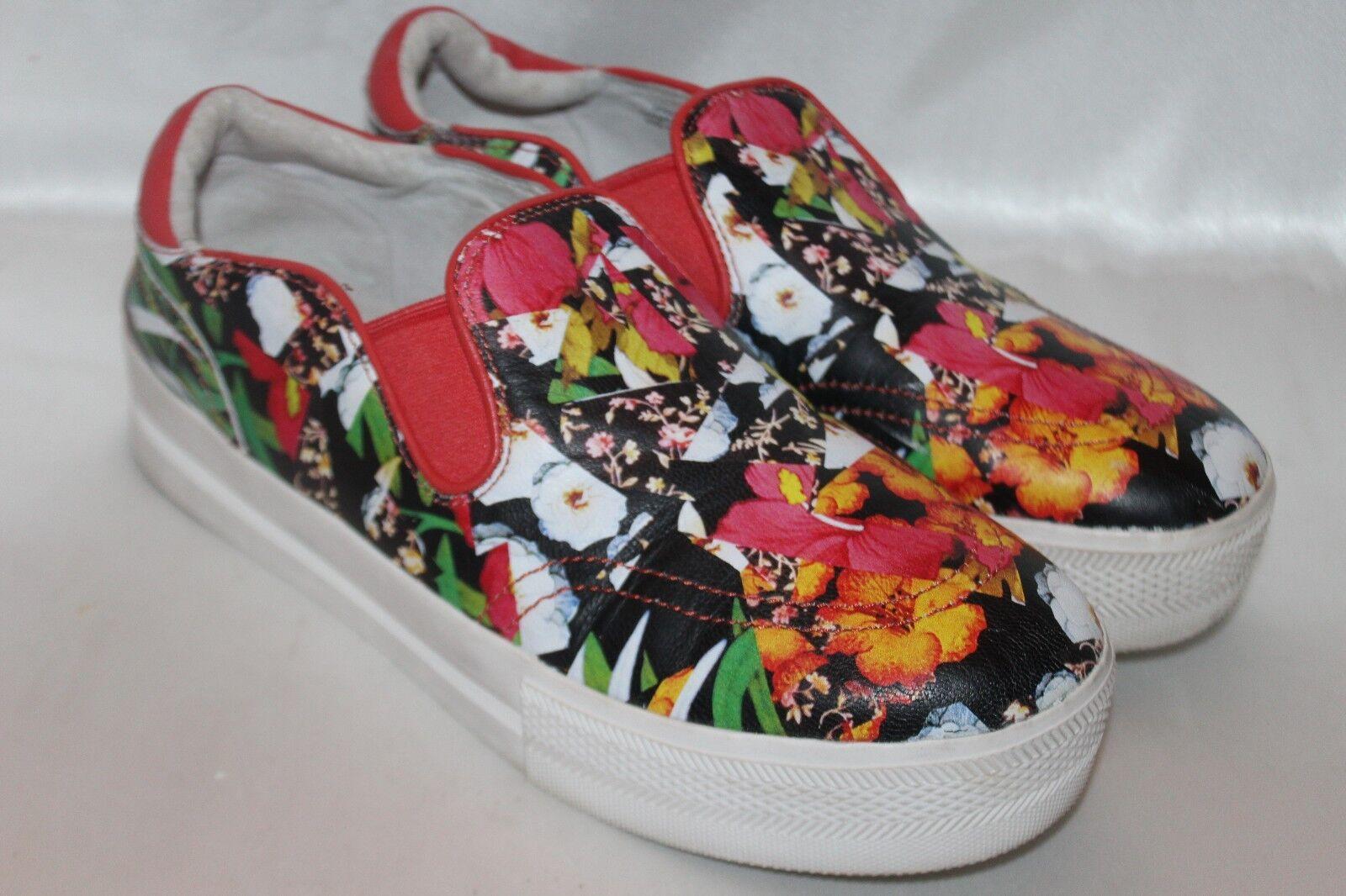 ASH ASH ASH Coral Multi Leather JUNGLE Slip On Sneaker Loafer Sz 9 EU40  180 54490c