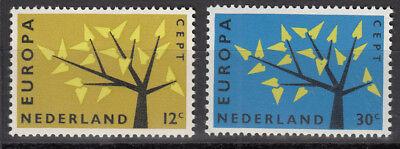 782-783** Europa 1962 Exquisite Handwerkskunst; Europa Cept/europa Union & Mitläufer Niederlande Nr