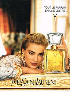 Sur Publicite 025 Laurent Advertising 1991 Femme Yves Parfum Y Saint Détails pGzqUVSML