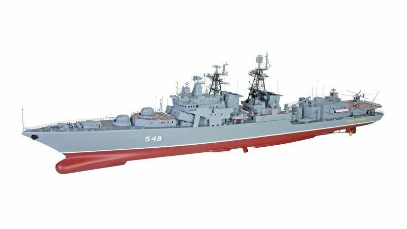 grigiopner GReE 1 100 SCALA  R C modellololo di barca udaloj Destroyer panteleyev NUOVO classe  risparmia fino al 50%
