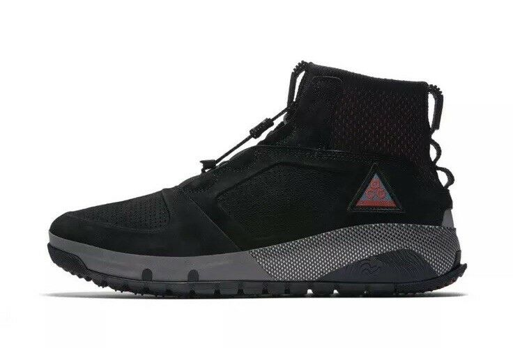 NEW NEW NEW Sz 10.5 Men's Nike ACG Ruckel Ridge Hiking Boot Black AQ9333-002  180 f2e64a