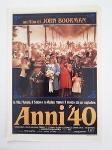 Collezione Cinema Ciak Mini Locandina Film Anni '40 | eBay