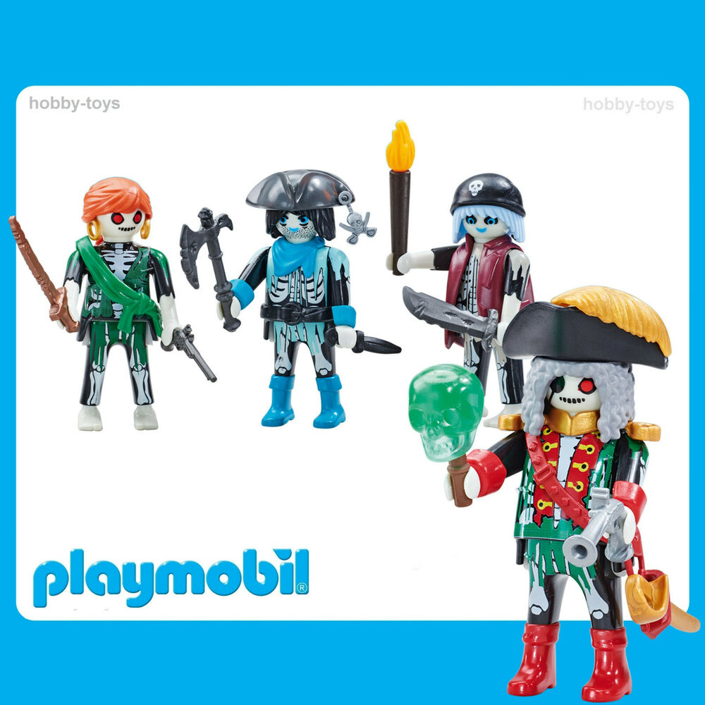 * Playmobil * Ghost Pirates & Capitaine Pirate * Neuf Scellé Dans Le Sac *