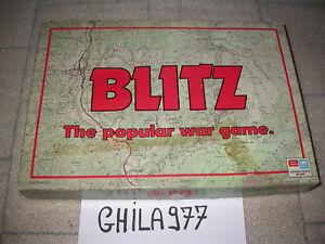 BLITZ-THE-POPULAR-WAR-GAME-EDITRICE-GIOCHI-1983-COMPLETO-OTTIMO-LOOK