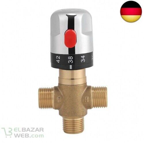 15 mm Waschbeckenarmatur Feste Temperatur für Armatur Thermostat Messing