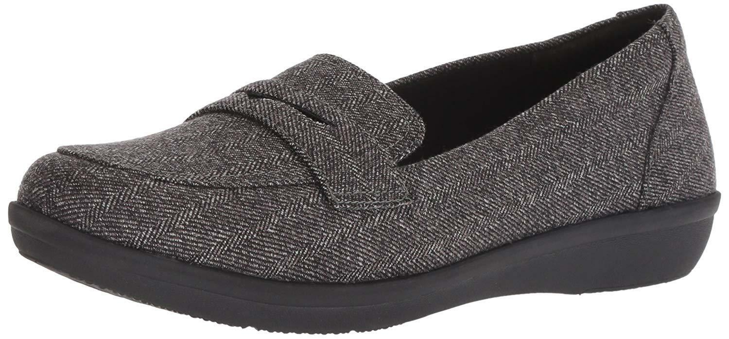 CLARKS AYALA FORM CLOUDSTEPPERS GREY TWEED 26137764 M WOMENS US SIZES