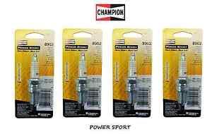 Champion-4-Bougies-8902-Powersport-pour-Suzuki-Rg-500-1987