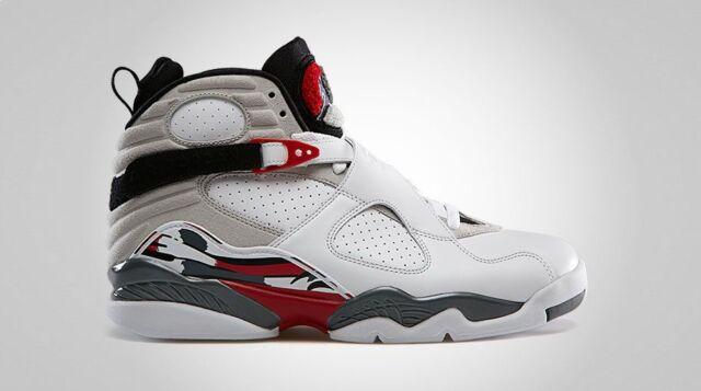 Jordan Leather Bunny Sneakers M Air 5 Retro 8 White Men's 9 Mediumd Size Bugs Nike qGpUVzjLSM