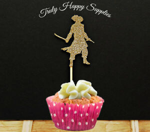 Image Is Loading Pirate Cupcake Topper 6 Or 12 In 21