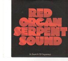 (FT736) Red Organ Serpent Sound, In Search of Orgasmuz - 2005 DJ CD