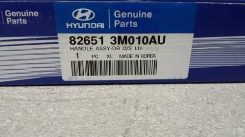 82651-3M010-AU OEM HYUNDAI OUTSIDE DRIVER DOOR HANDLE 09-14 GENESIS SEDAN