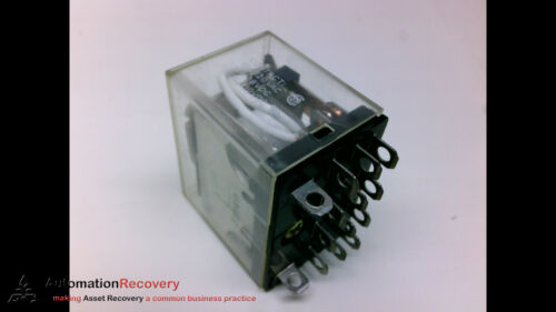 OMRON LY4N-US NEW* #205023 PACK OF 4-110 VAC CONTACT RELAY