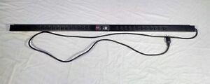 APC-AP7830-Metered-Rack-Power-Strip-PDU-24-Outlet-L5-20P-16A-120v-Tested-amp-Works