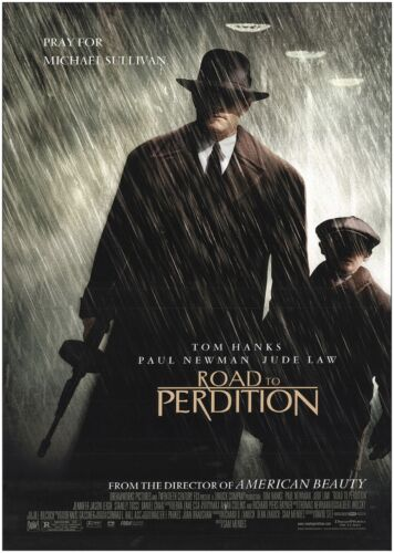 Road to Perdition Tom Hanks Classic Movie Poster Print A0 A1 A2 A3 A4 Maxi