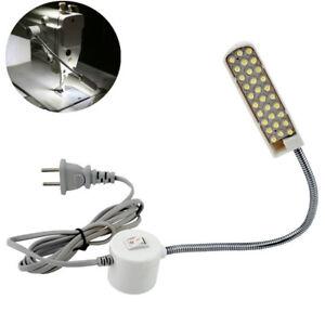 30-LED-110-220V-Naehmaschine-Lampe-Leuchte-Licht-Magnetisch-Flexibel-130cm-Kabel