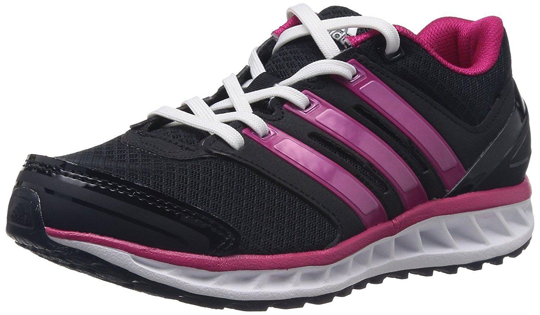 Adidas Falcon Elite 3 Femme - Noir (Black - Schwarz (Black Noir 1 / Pink Buzz S10 / Running a4df64