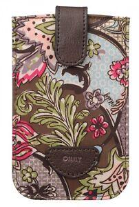 Oilily-Caja-Del-Telefono-Movil-French-Paisley-Smartphone-Pull-Case-Moss