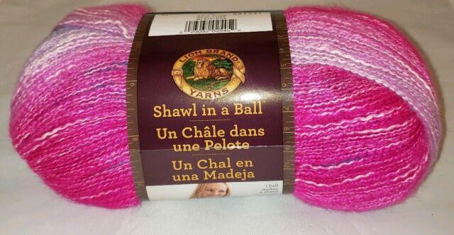 3 Pack Lion Brand Shawl in a Cake Yarn-Half Moon