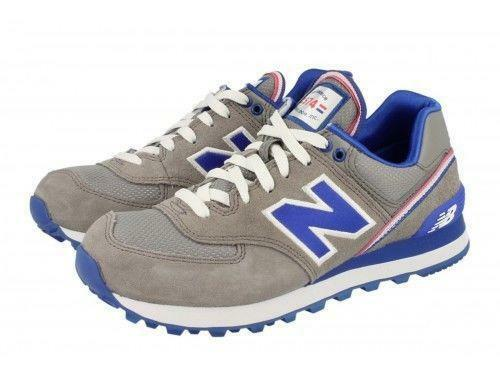Wo Hommes NEW BALANCE Stad Gris WL574SJG Running Trainers