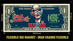 Iron-Maiden-We-can-IMAN-BILLETE-1-DOLLAR-BILL-MAGNET