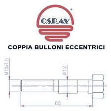 COPPIA BULLONI ECCENTRICI AMMORTIZZATORI FIAT PANDA II 03-> (CAMPANATURA)