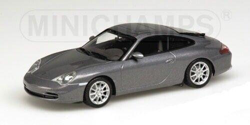 PORSCHE 911 2001 gris met. 1 43 MINICHAMPS 400061020
