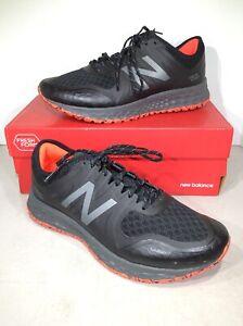 7.5 4E Black Trail Running Shoes X6-593