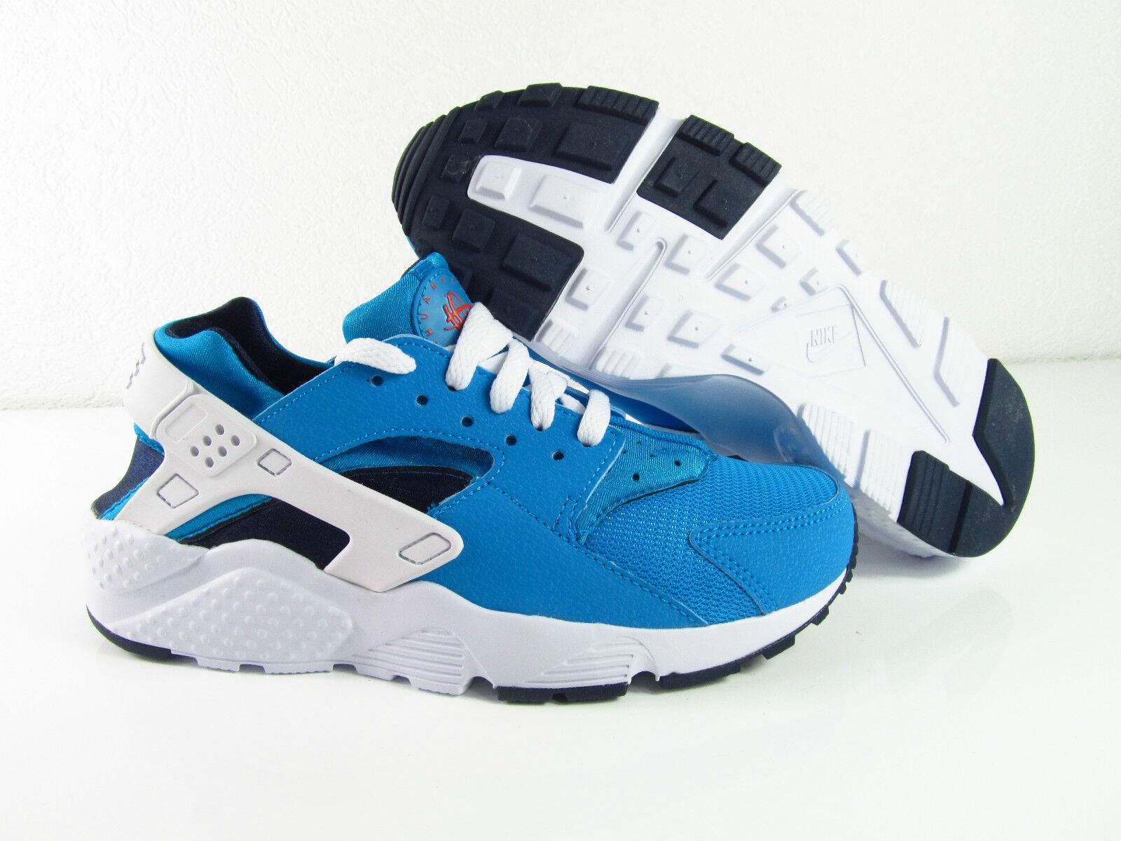 Nike Air Huarache Run Blue Lagoon White Mid Navy Sneaker Eur 38 / 39