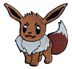 EEVEE-Patch-Iron-on-Badge-Costume-Pokemon-Cosplay-Patches-New-Pokedex-Vaporeon