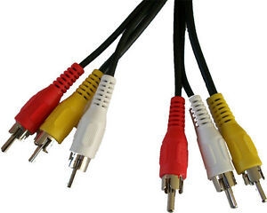 1-5m-3-Phono-Plug-RCA-Audio-Video-AV-TV-Cable-Lead-Yellow-Red-White