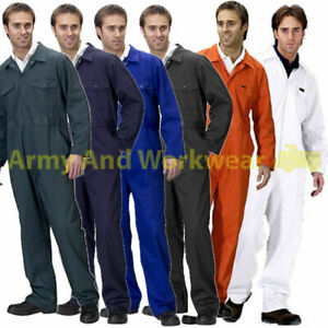 Coverall-Overall-Boiler-Suit-Workwear-Mens-Boilersuit-Hard-Wearing-Poly-Cotton