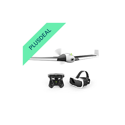 Parrot Disco FPV Kameradrone Drohne Action Cam + Skycontroller + Brille NEU