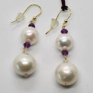 Ohrringe-aus-Gold-Gelb-18K-750-Perlen-Wasser-Dolce-und-Amethyst-Made-in-Italy