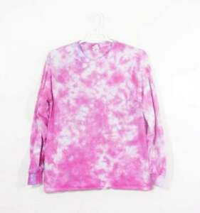 0d324faf72bdb Details about Tie Dye T Shirt Long Sleeve Adult Youth Crinkle Cotton S M L  XL 2XL 3XL
