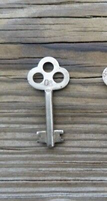 B70  Roll Top Desk Key Antique Corbin Double Bit Solid Shaft Key Marked