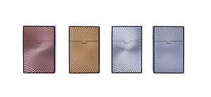 100 mm Zigaretten Box Dose Etui  im Edel Design Farbton Titan Marken Qualität Zigaretten & Zubehör