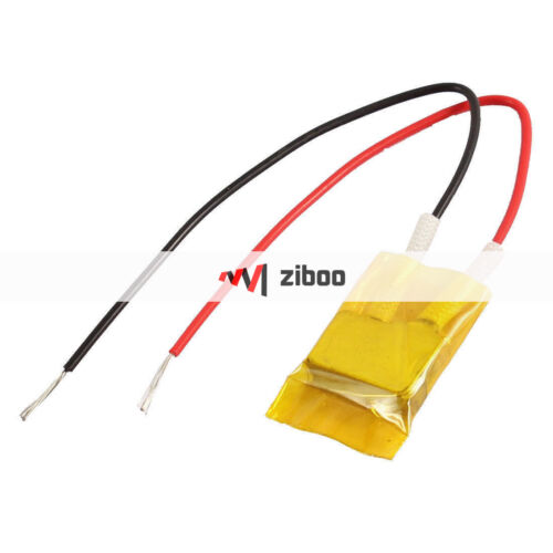 Mini Aluminum PTC Heater Low Power Thermostatic Heat 12mm x 8mm x 3mm 40 Celsius
