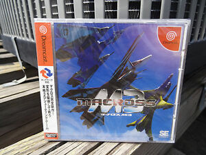 Macross-M3-2003-Shoeisha-Brand-New-Factory-Sealed-Japan-Dreamcast-DC-Import